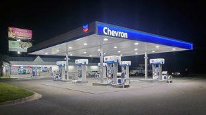 Chevron Rebranding night