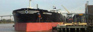 Tanker-at-berth-20-bow-of-ship