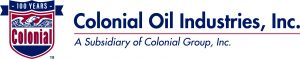 Colonial Oil Ind. Logo-100 Years